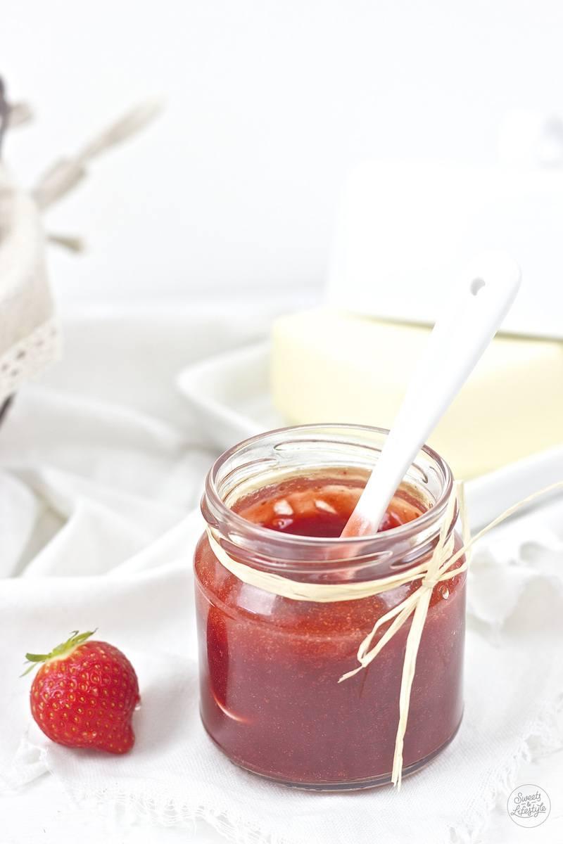 Rezept Erdbeer Aperol Marmelade