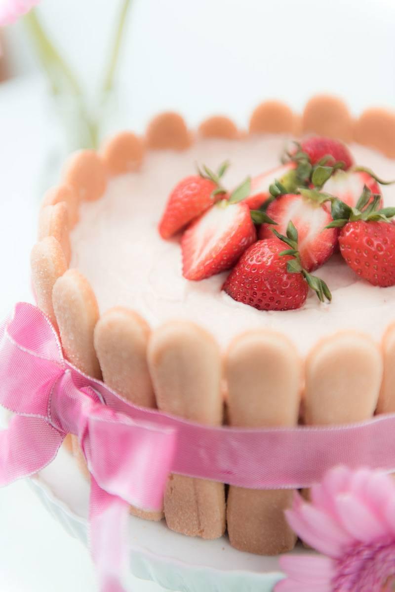 Rezept Erdbeer Charlotte