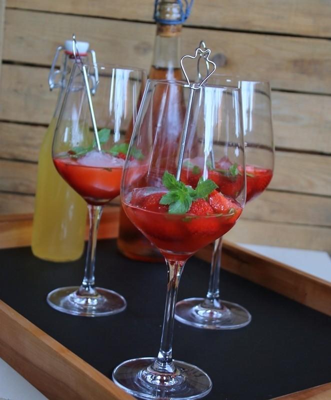Rezept Erdbeer-Hugo