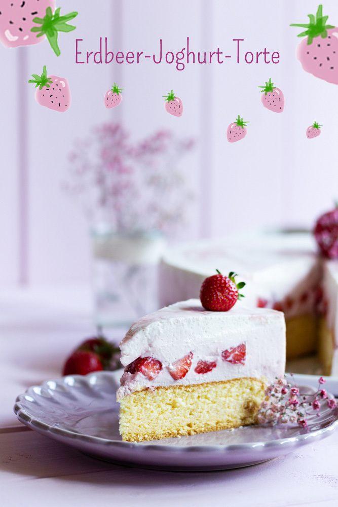 Rezept Erdbeer-Joghurt-Torte 2