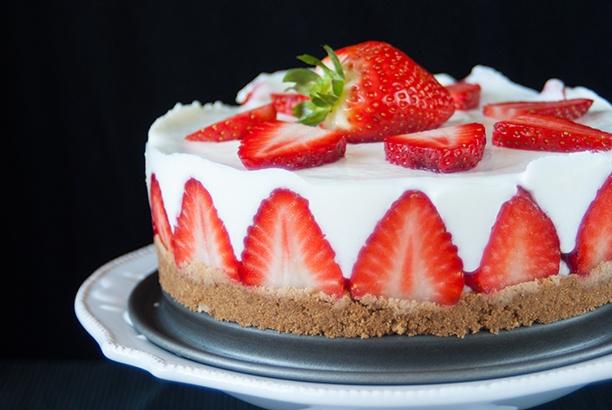 Rezept Erdbeer-Joghurt-Torte