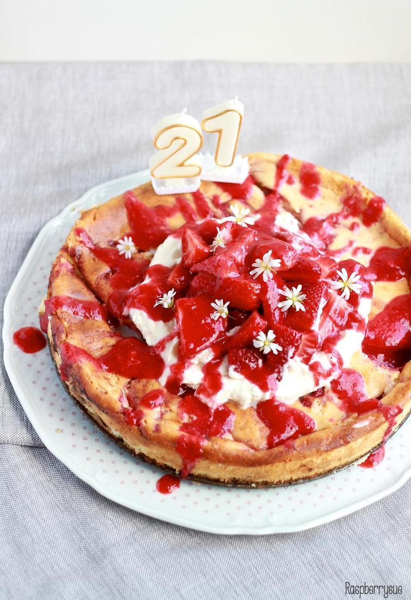 Rezept Erdbeer-Käsekuchen