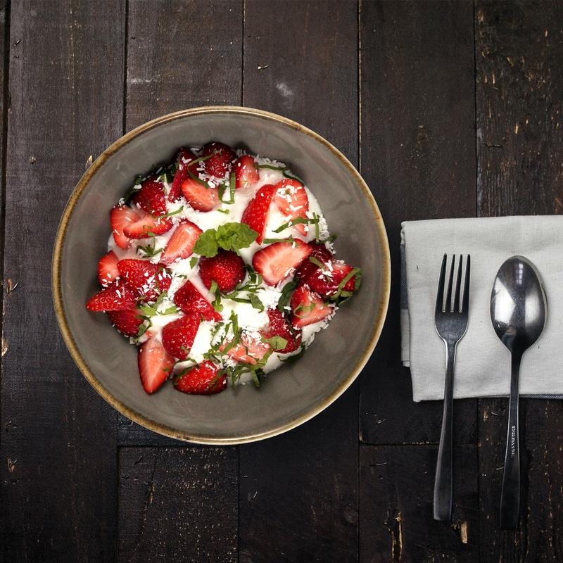 Rezept Erdbeer-Kokos-Dessert
