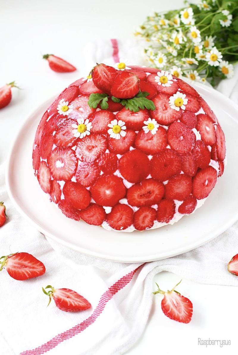 Rezept Erdbeer Kuppeltorte