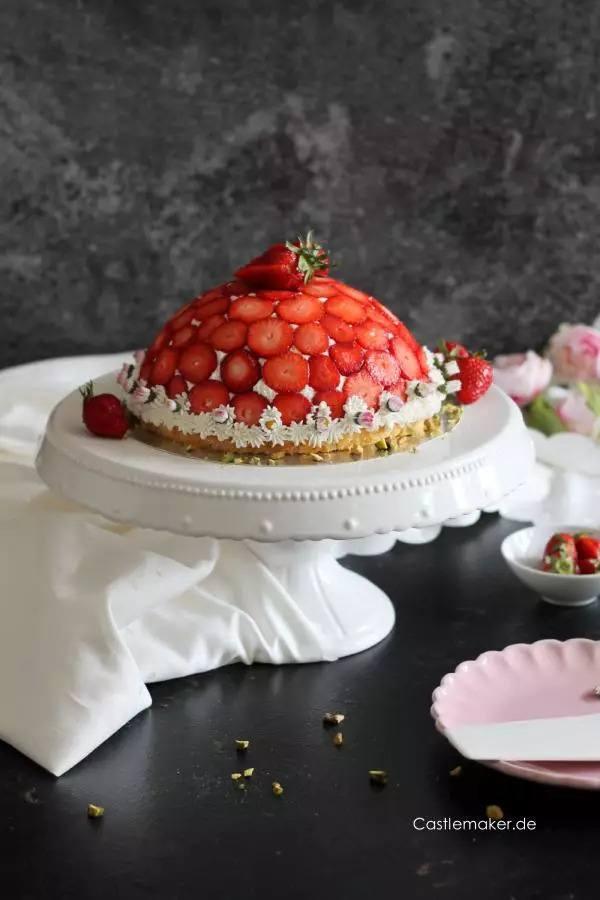 Rezept Erdbeer-Kuppeltorte