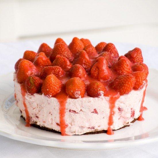 Rezept Erdbeer-Mascarpone Torte