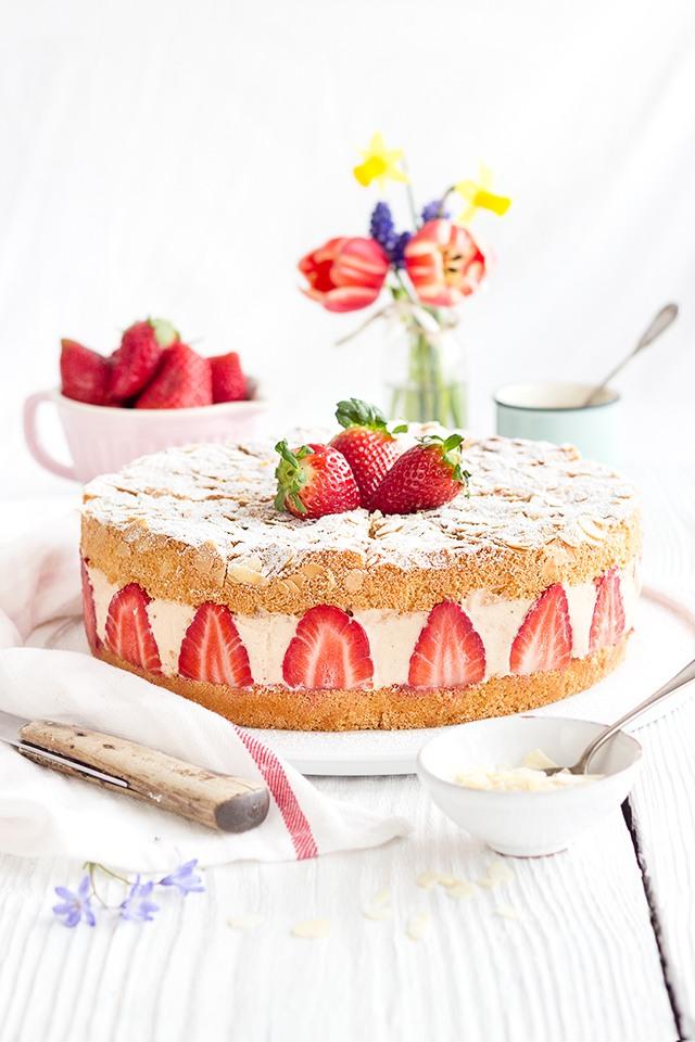 Rezept Erdbeer-Sahnetorte