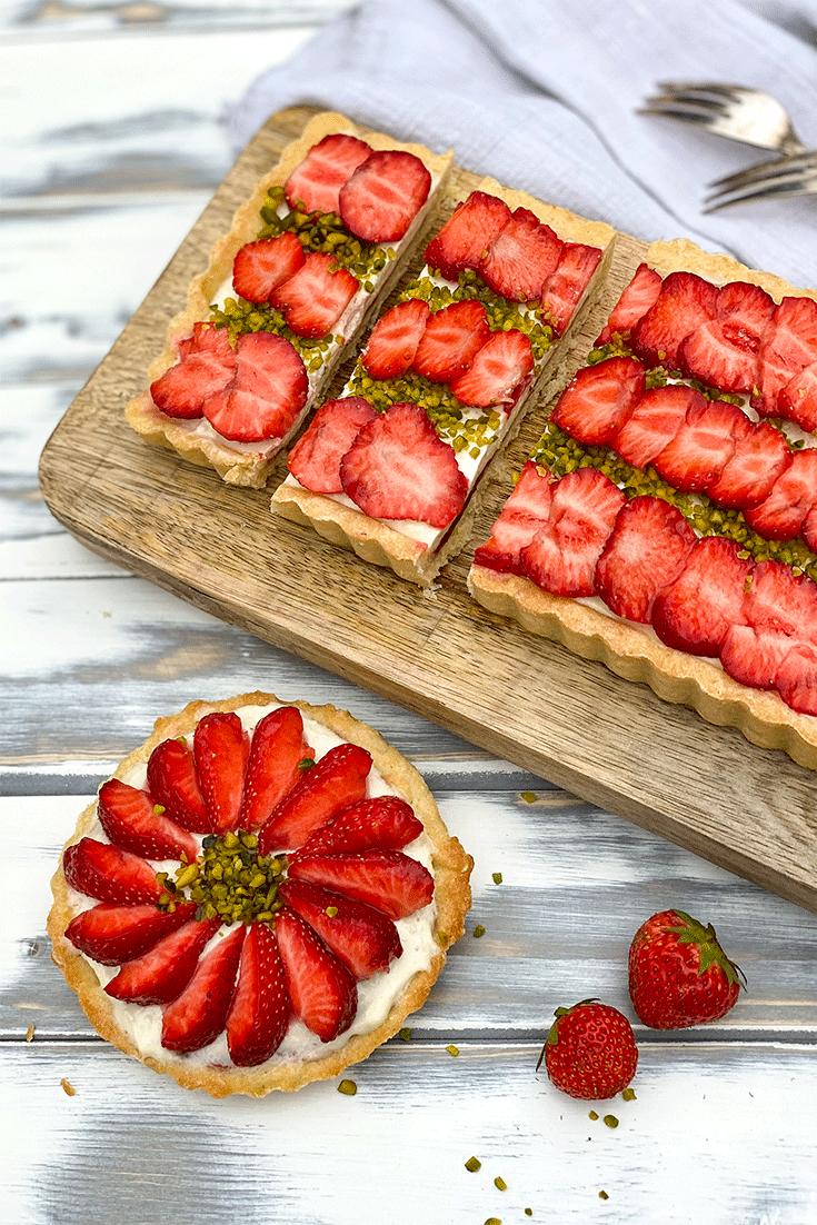 Rezept Erdbeer-Schmand-Tarte