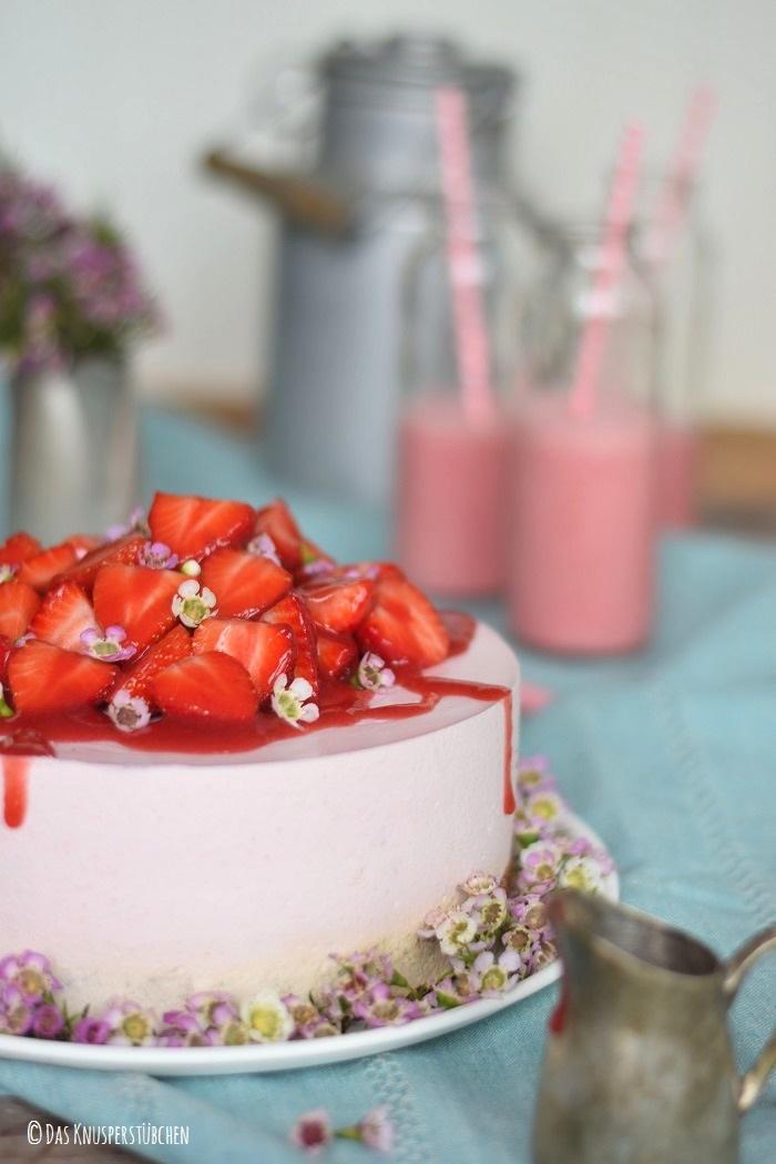 Rezept Erdbeer Shake Törtchen