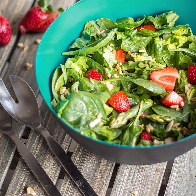 Rezept Erdbeer-Spargel-Salat