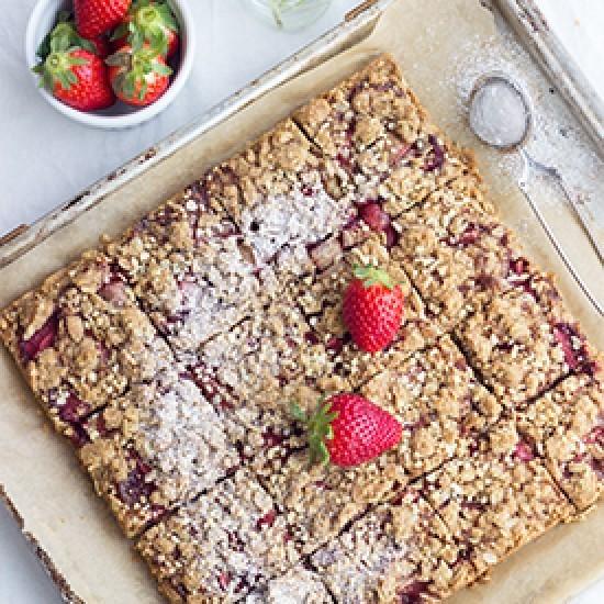 Rezept Erdbeer-Streusel-Schnitten