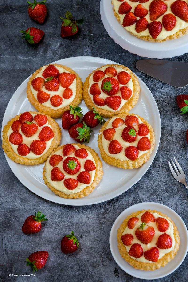 Rezept Erdbeer Torteletts