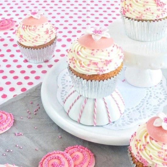 Rezept Erdbeer-Vanille Cupcakes