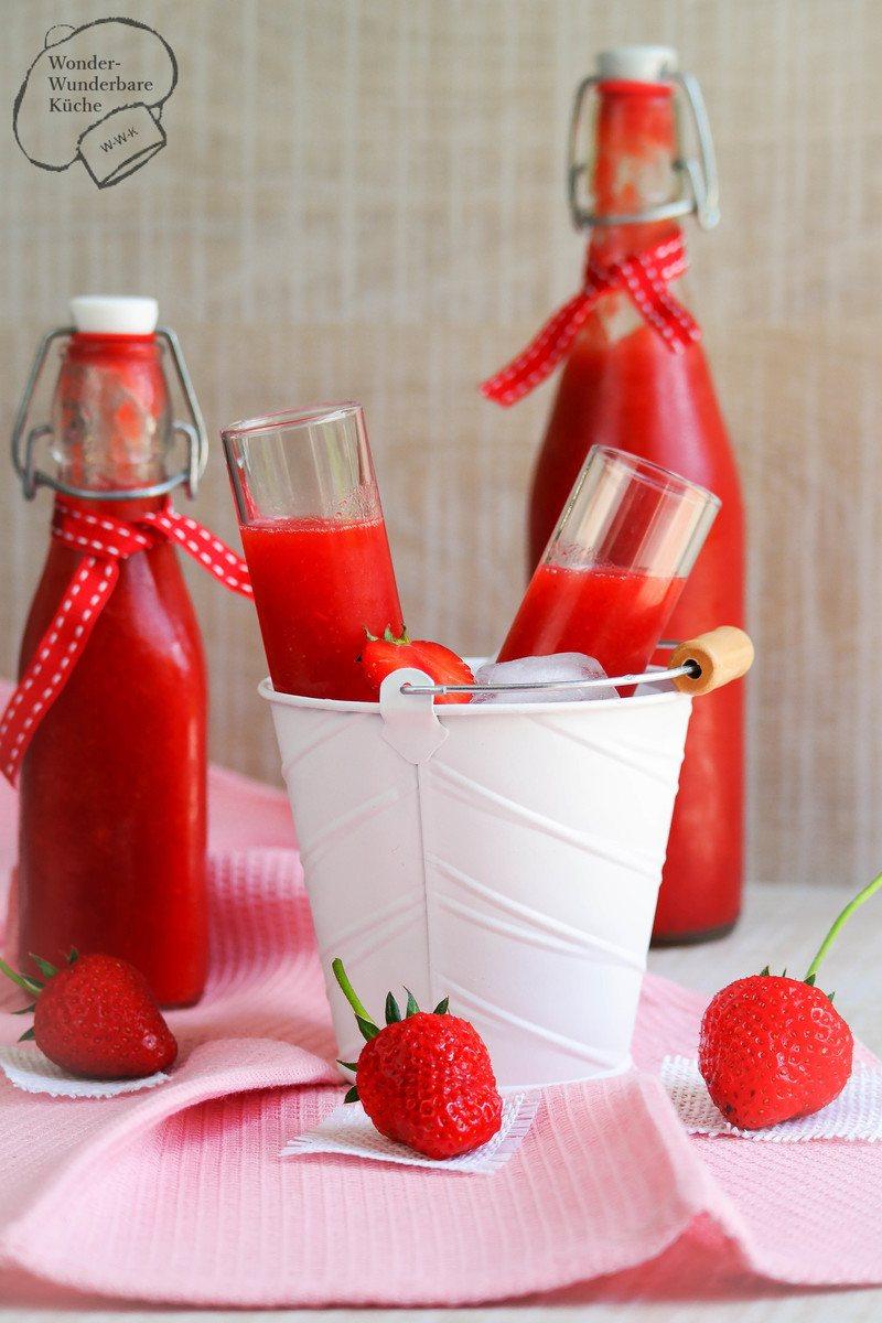 Rezept Erdbeerlimes