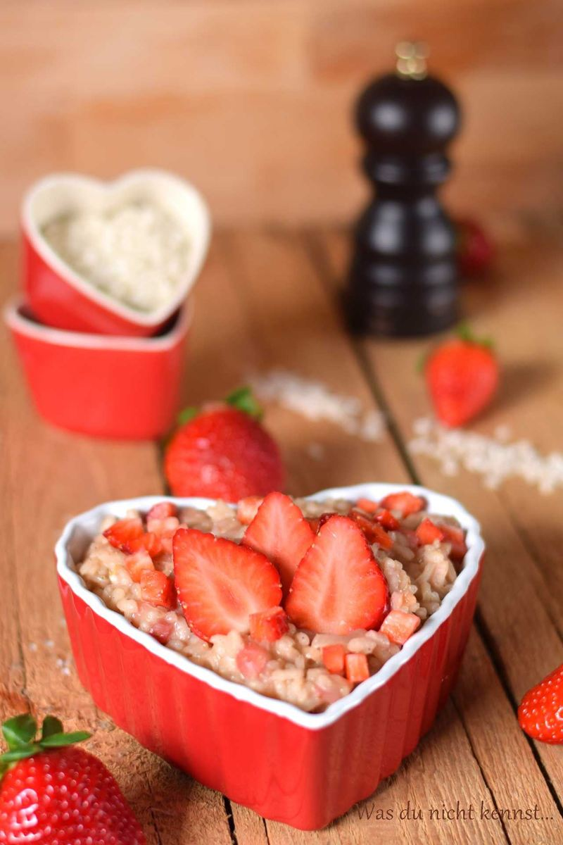 Rezept Erdbeerrisotto