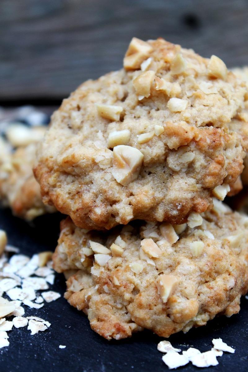 Rezept Erdnuss-Bananen-Cookies