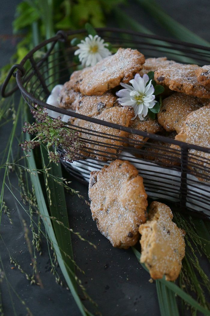 Rezept Erdnuss Cookies mit Flor de Sal