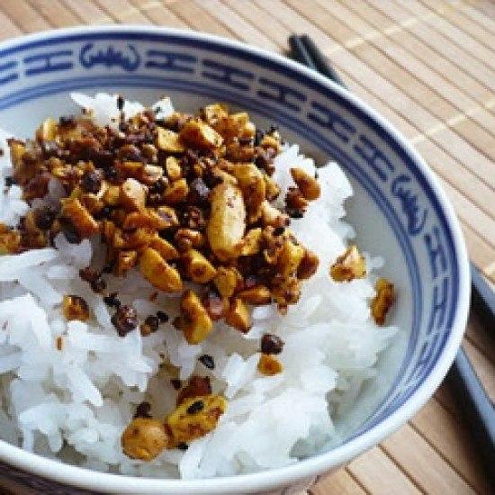 Rezept Erdnuss Curry Furikake Ohne Nori