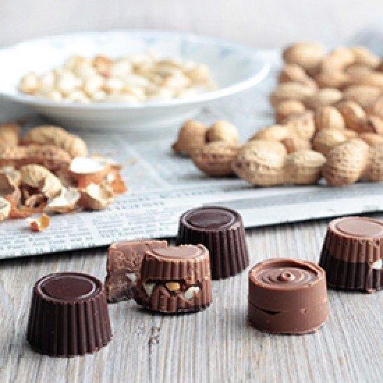 Rezept Erdnuss-Karamell-Pralinen