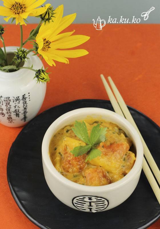 Rezept Erdnuss-Papaya-Curry