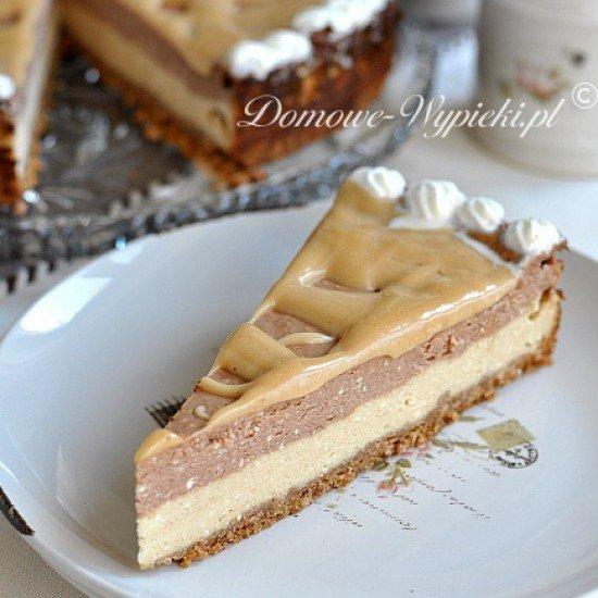 Rezept Erdnuss- Schoko Käsekuchen