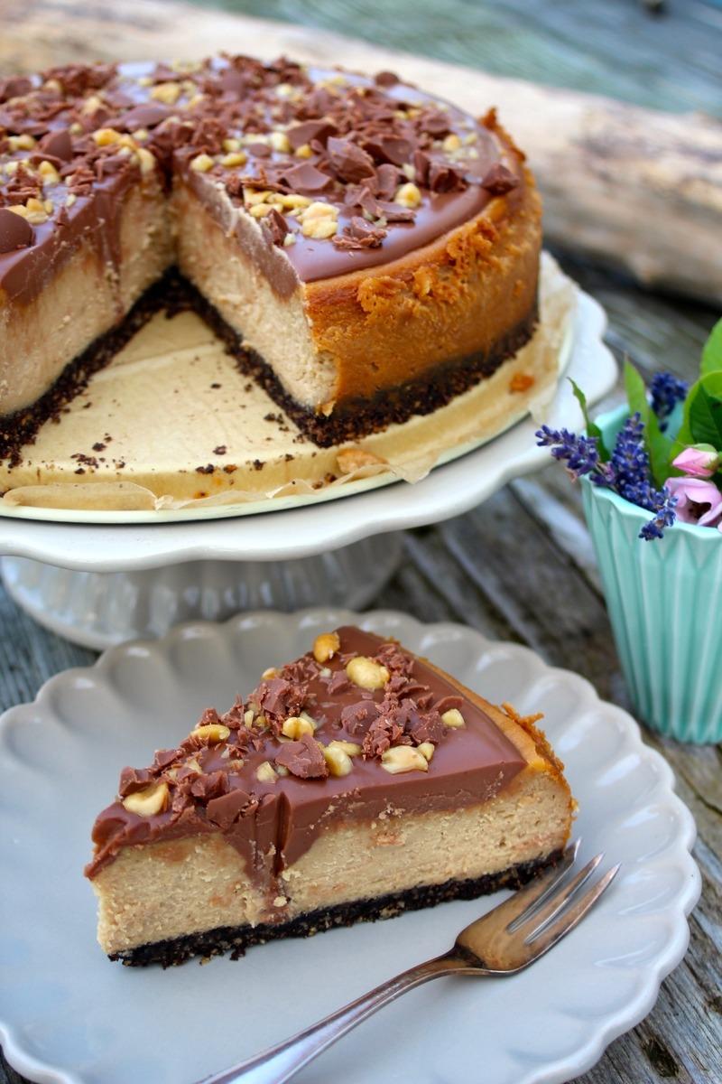 Rezept Erdnussbutter-Cheesecake