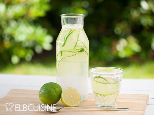 Rezept Erfrischend anders grüne Gurken-Limonade