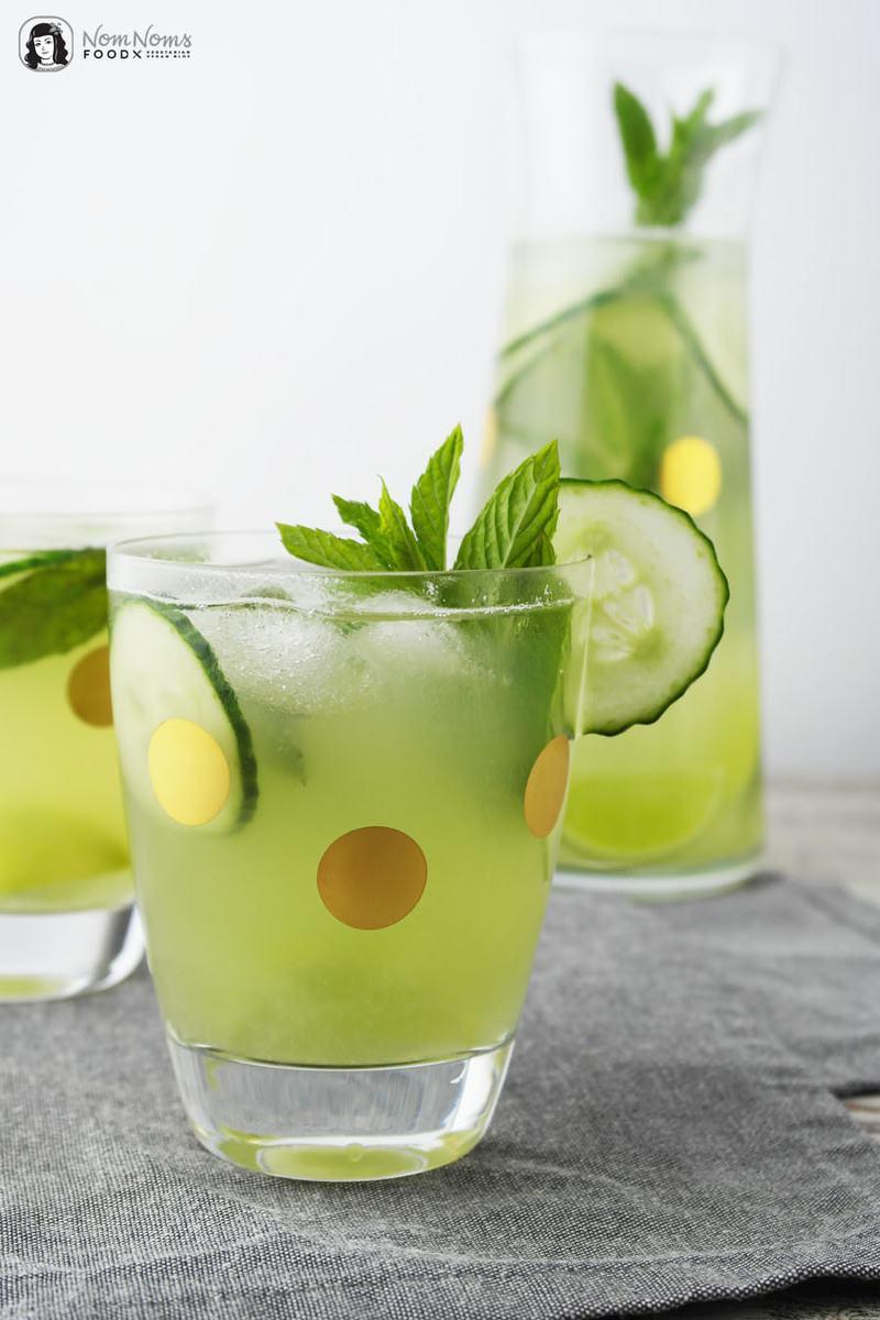 Rezept Erfrischende Gurken-Limonade mit Minze