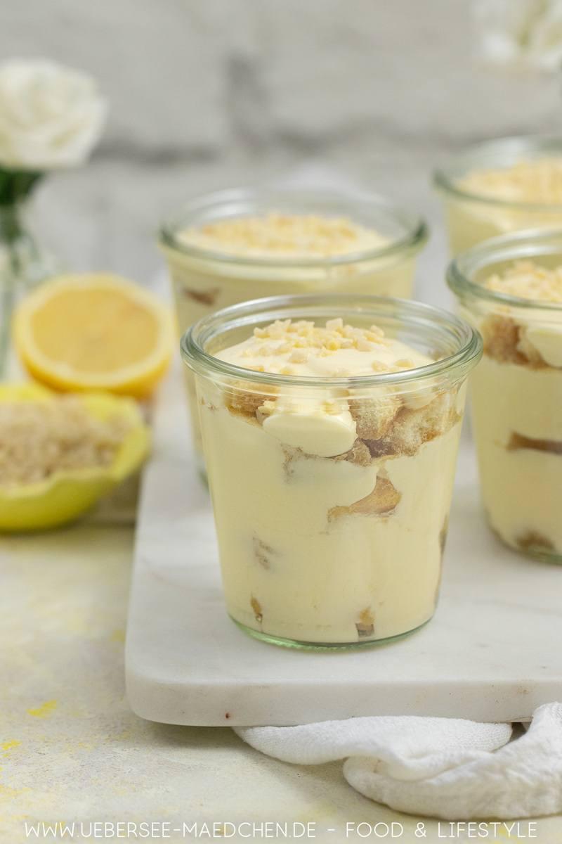 Rezept Erfrischendes Tiramisu mit Lemon Curd