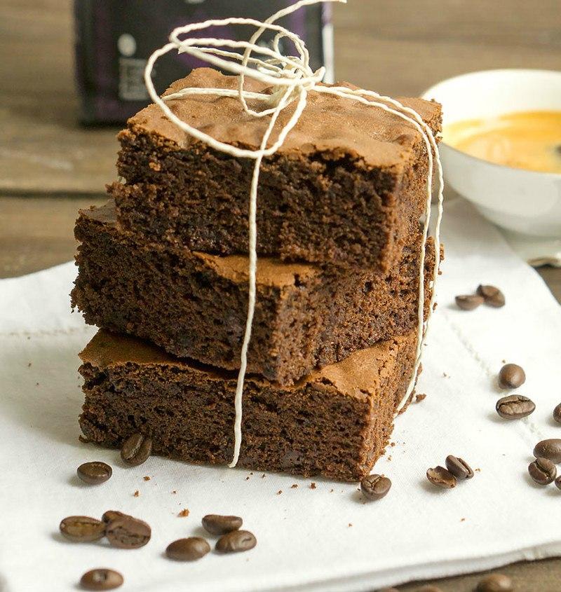 Rezept  Espresso-Brownies