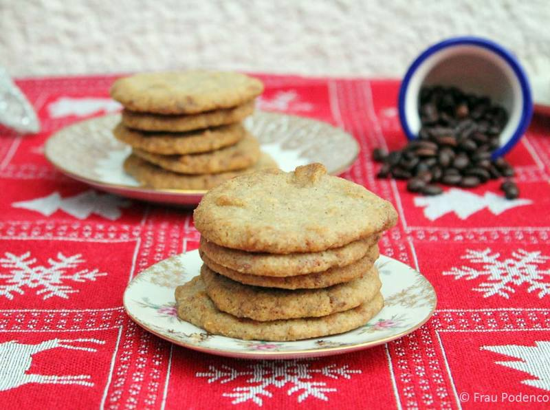Rezept Espresso-Kekse mit weißer Schokolade
