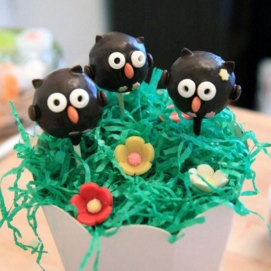 Rezept Eulen-Cake-Pops