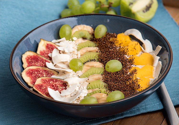 Rezept Exotic Smoothie Bowl