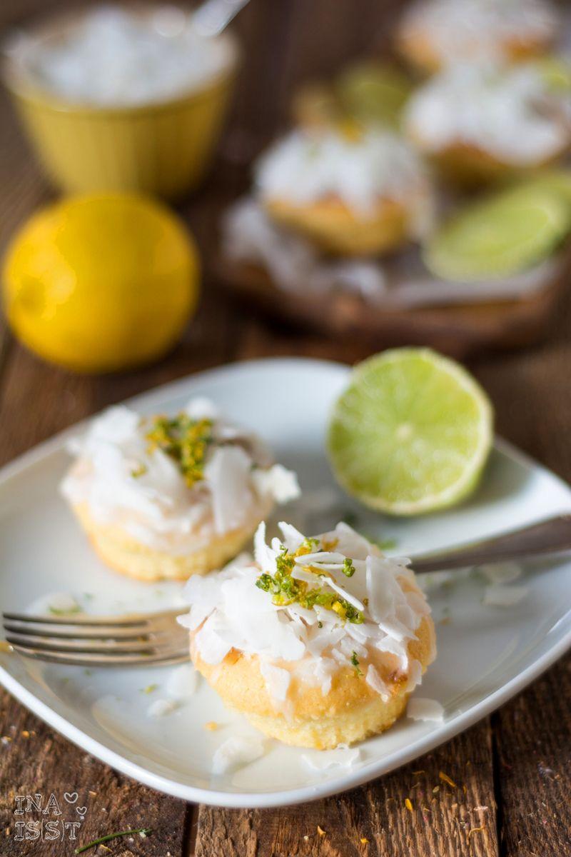 Rezept Exotische Zitrusmuffins mit Kokos