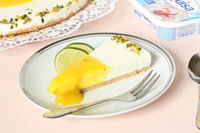 Rezept Exquisa-Torte mit Mango und Limette
