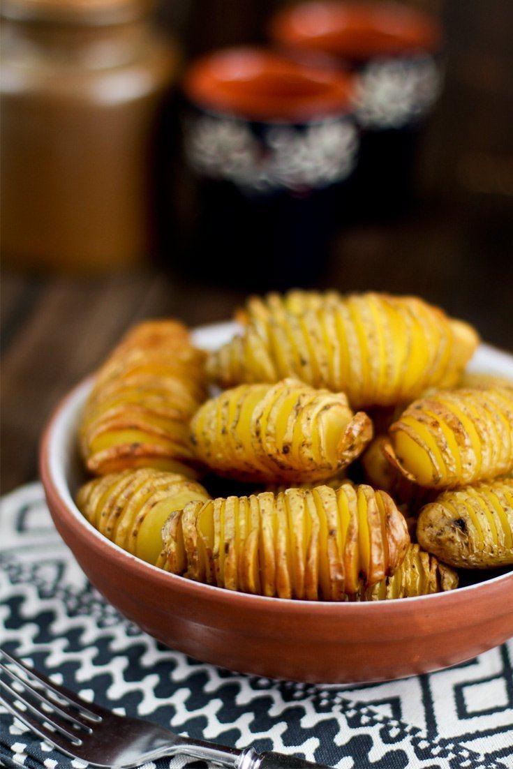 Rezept Fächerkartoffeln aus dem Backofen / vom Grill