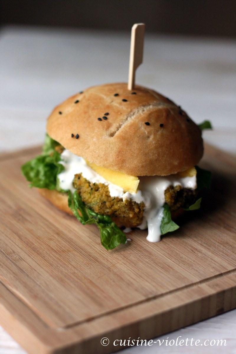 Rezept Falafel-Burger