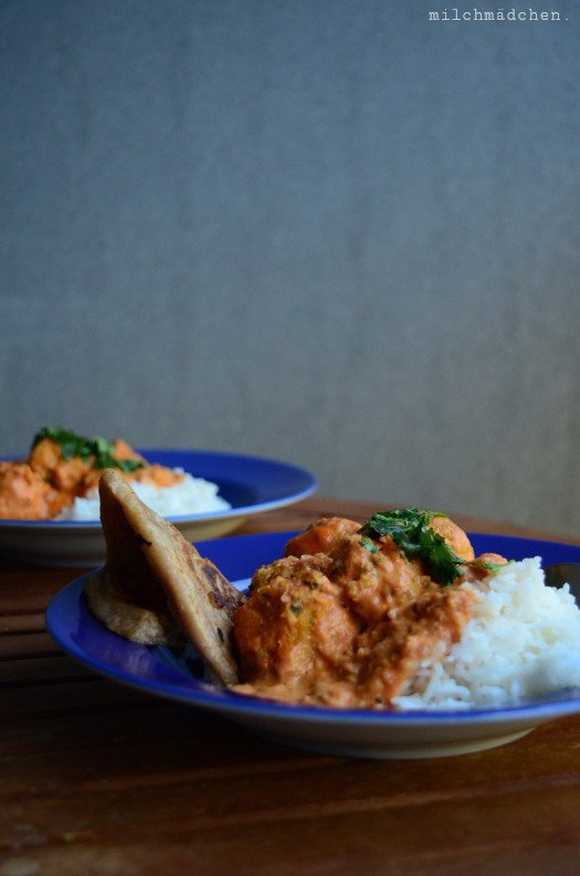 Rezept Falafel-Curry mit Naan
