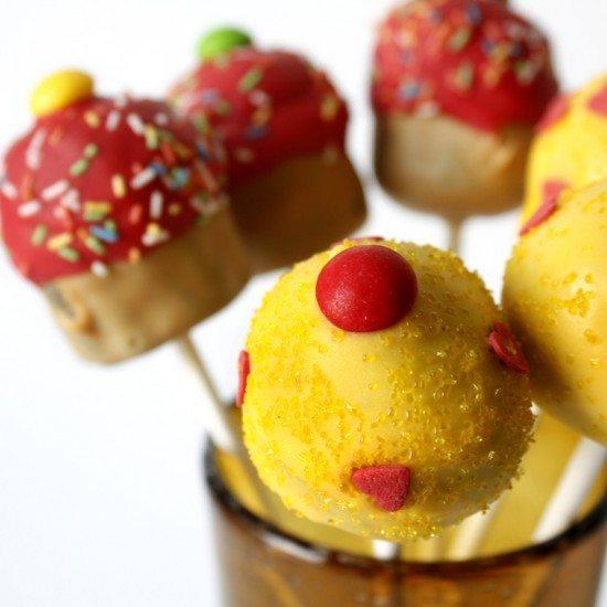 Rezept Farbenfrohe Cake Pops