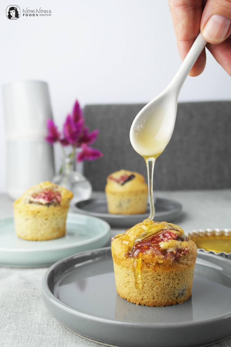 Rezept Feigen-Zimt-Muffins mit Honig