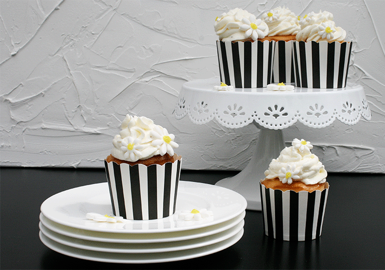 Rezept Feine Buttermilch Lemon Curd Cupcakes