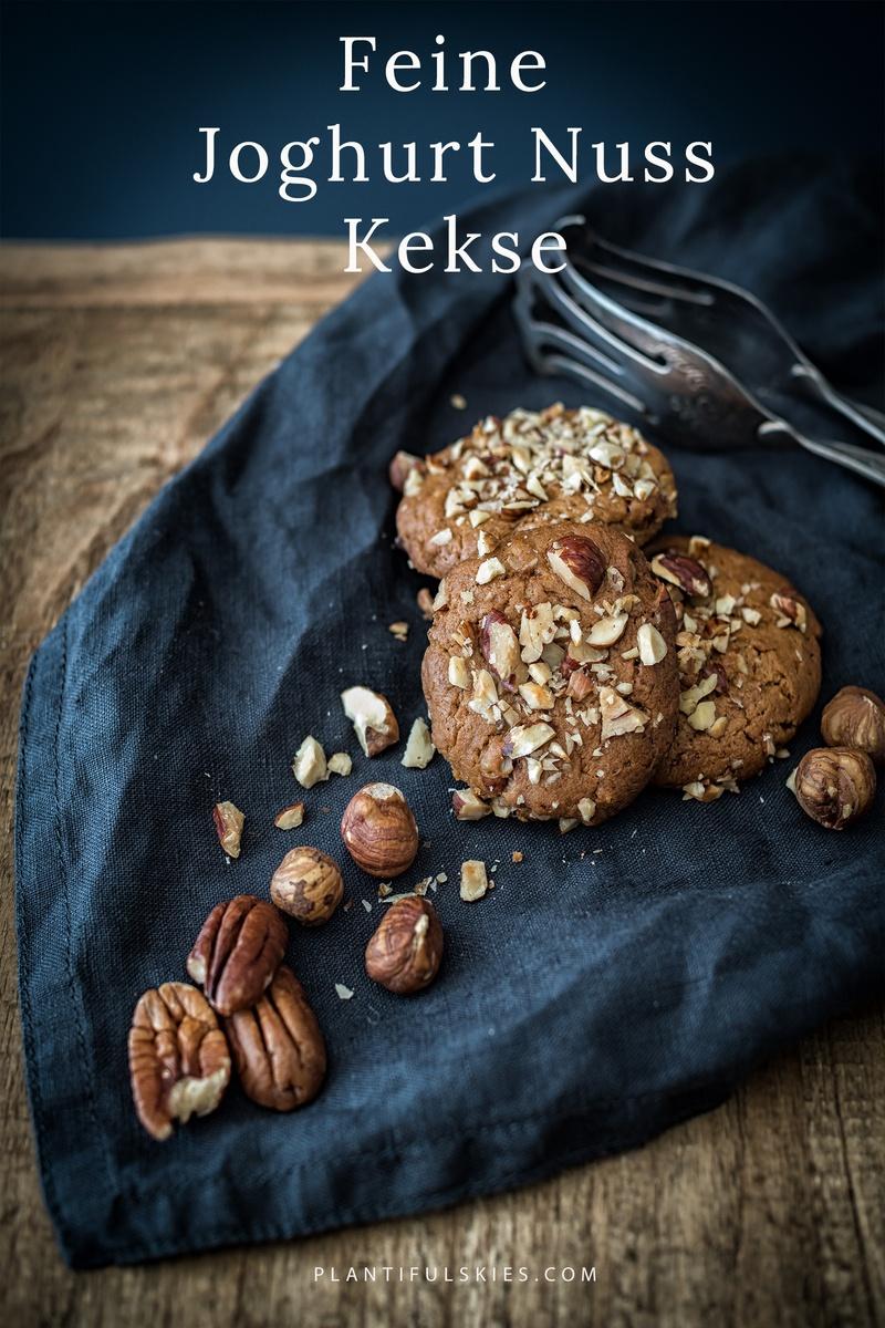 Rezept Feine Joghurt Nuss Kekse