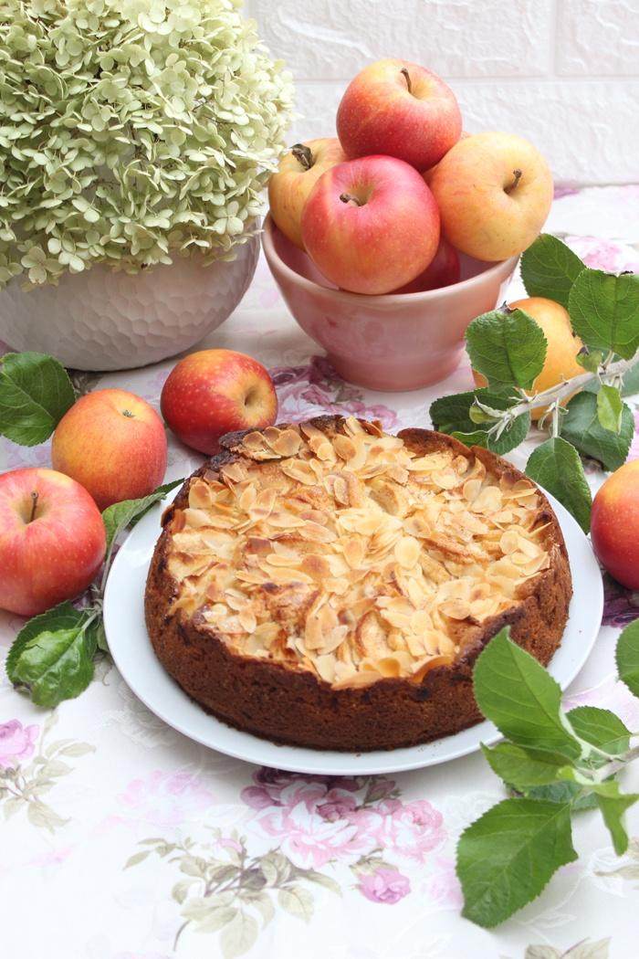 Rezept Feiner Apfel-Sandkuchen mit Mandeln – Ein himmlischer Klassiker