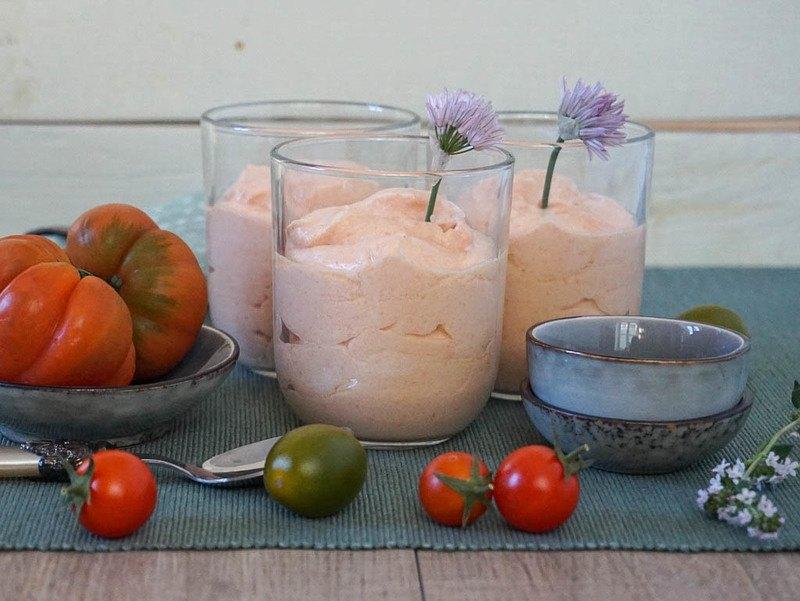 Rezept Feines Tomatenmousse