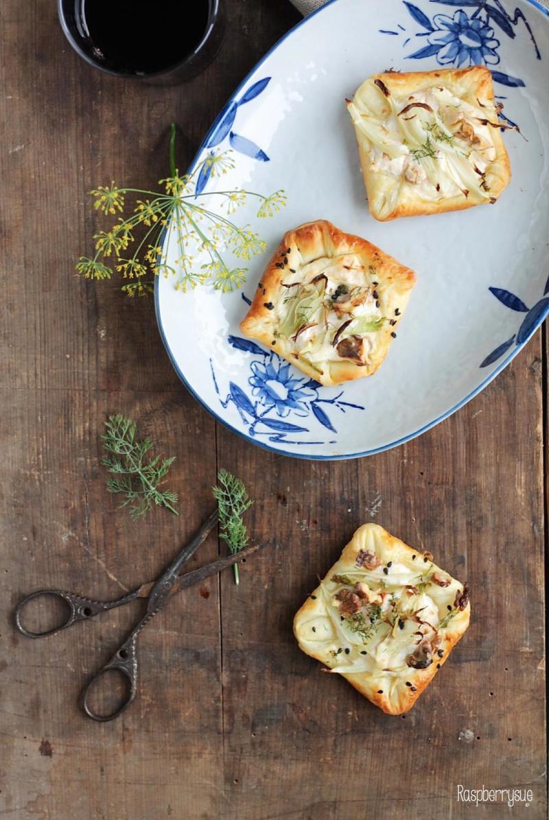 Rezept Fenchel-Blätterteig-Päckchen mit Ricotta