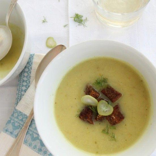 Rezept Fenchel-Käse-Suppe