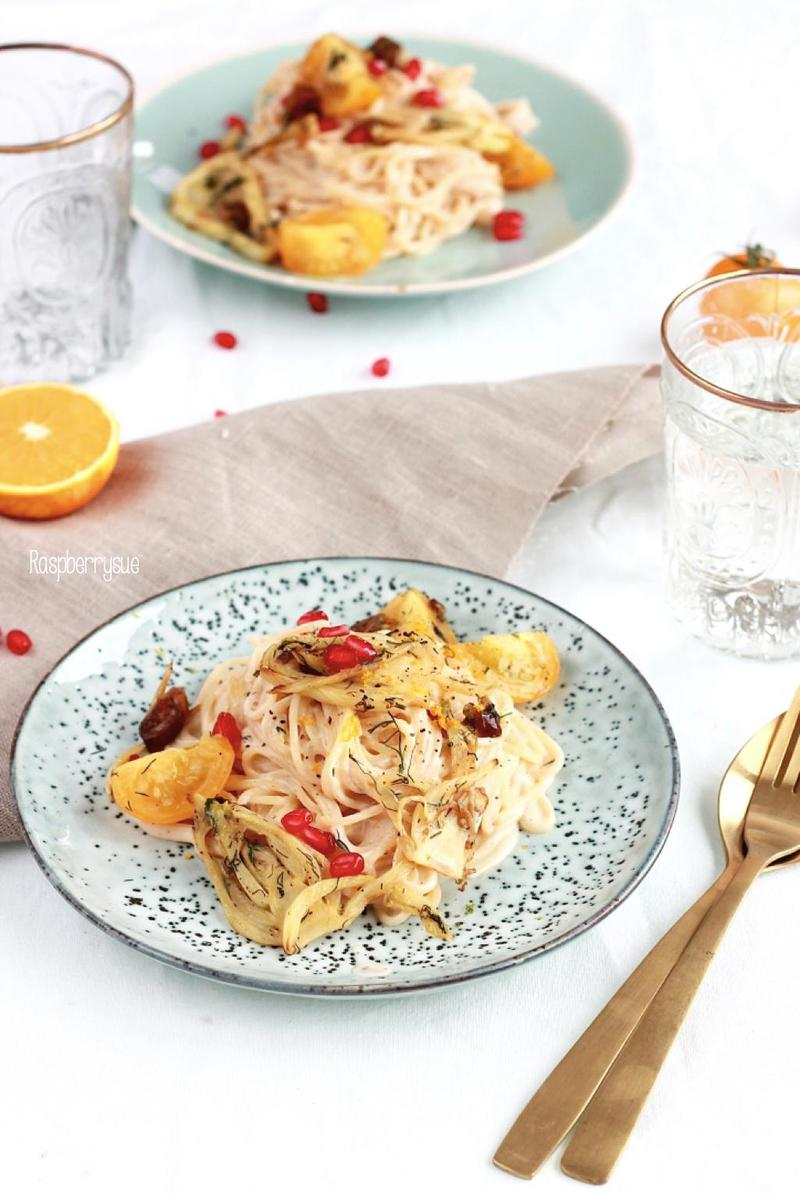 Rezept Fenchel-Pasta mit Orange und Dill