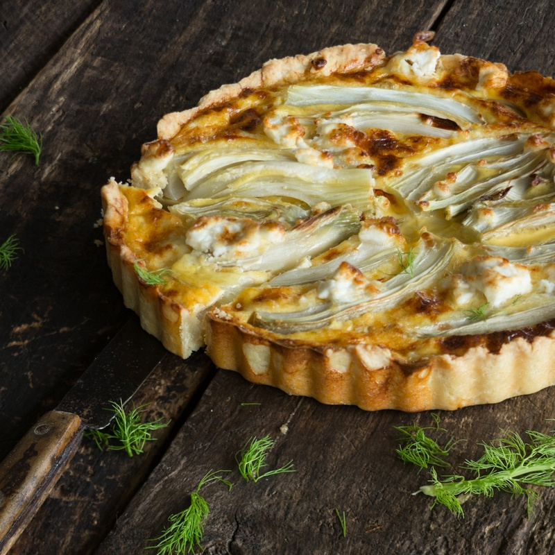 Rezept Fenchel-Tarte mit Ziegenkäse