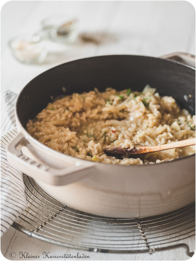 Rezept Fenchelrisotto mit Parmesanchips