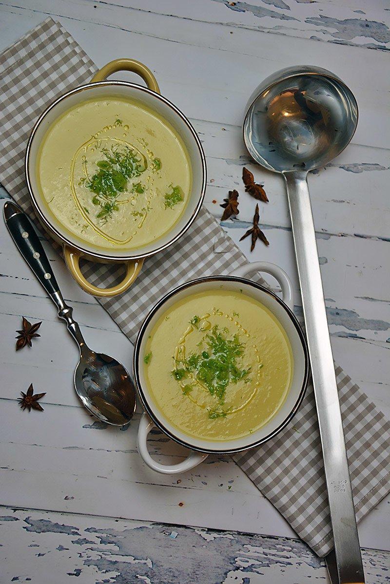 Rezept Fenchelsuppe mit Sternanis